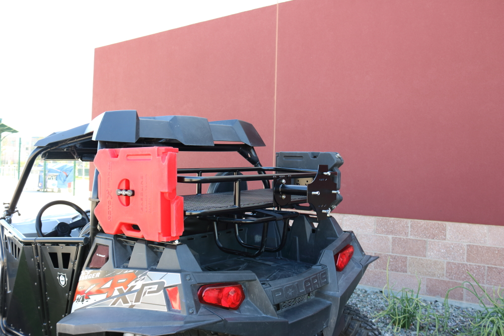 Utv Rax Polaris Cargo Rack Bed Extender With Mesh Bottom